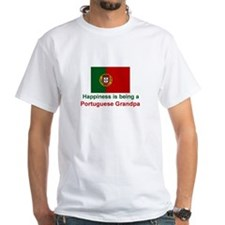 Happy Portuguese Grandpa Shirt