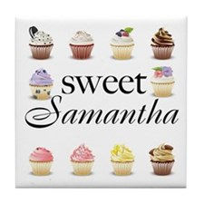 Sweet Samantha Tile Coaster