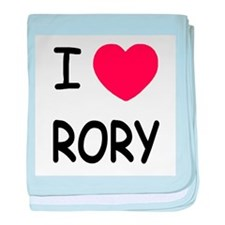 I heart rory baby blanket
