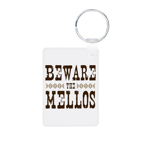 Beware the Mellos Aluminum Photo Keychain