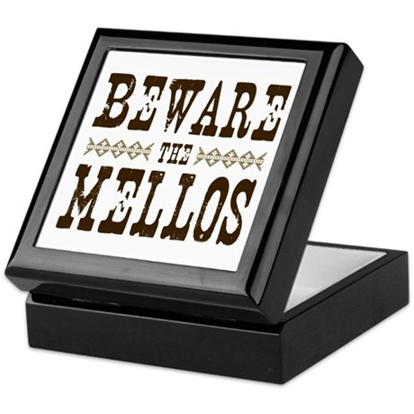 Beware the Mellos Keepsake Box