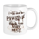 &quot;Pawed at&quot; Mug