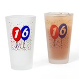 16th Birthday Pint Glass
