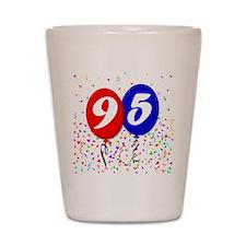 95th Birthday Shot Glass