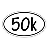 50k Oval Decal