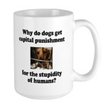 Capital Punishment Large Mug