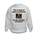 Capital Punishment Kids Sweatshirt