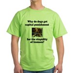 Capital Punishment Green T-Shirt