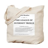 League of Internet Trolls Tote Bag