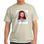 Watching You Fornicate Ash Grey T-Shirt