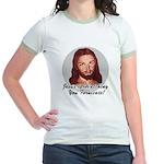 Watching You Fornicate Jr. Ringer T-Shirt