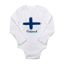 Finland Long Sleeve Infant Bodysuit
