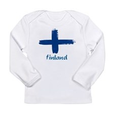 Finland Long Sleeve Infant T-Shirt