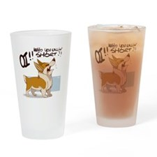 Pissed Off Corgi - Pint Glass