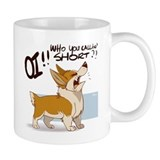 Pissed Off Corgi - Small Mug