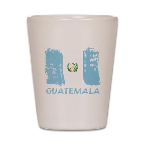 Guatemala Shot Glass