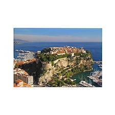 Monaco Castle Rectangle Magnet