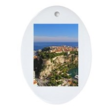 Monaco Castle Ornament (Oval)
