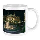 Monte Carlo Casino at Night Small Mug