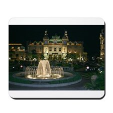 Monte Carlo Casino at Night Mousepad