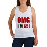 OMG 65th Birthday Women's Tank Top