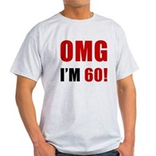 OMG 60th Birthday T-Shirt
