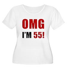 OMG 55th Birthday T-Shirt