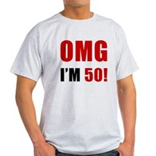 OMG 50th Birthday T-Shirt