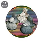 """Trumpeters Three 3.5"""" Button (10 pack)"""