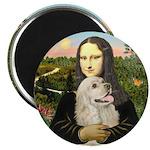 Mona Lisa - Cocker (buff) Magnet