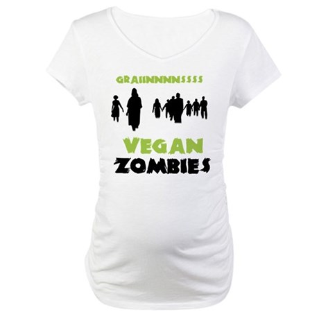 Vegan Zombies Maternity T-Shirt