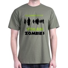 Vegan Zombies T-Shirt