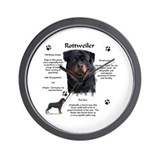 Rottie 1 Wall Clock