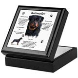 Rottie 1 Keepsake Box