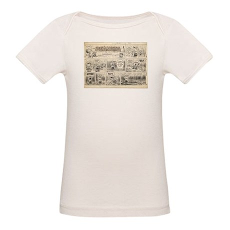 1950's Baseball Organic Baby T-Shirt