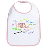 Cute German language Bib