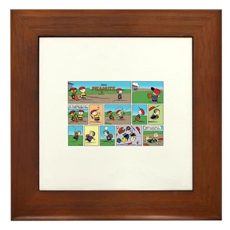 Great Throwing Arm Framed Tile