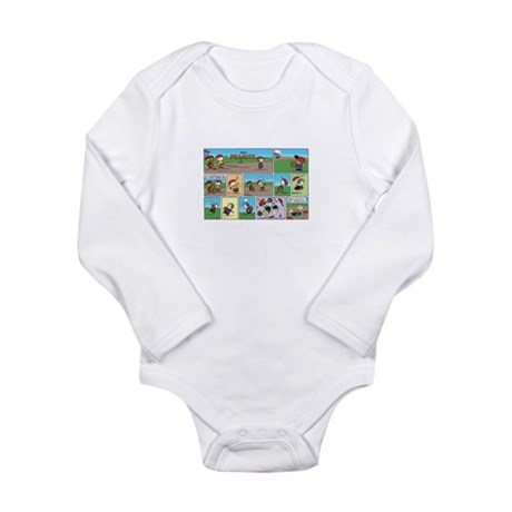 Great Throwing Arm Long Sleeve Infant Bodysuit
