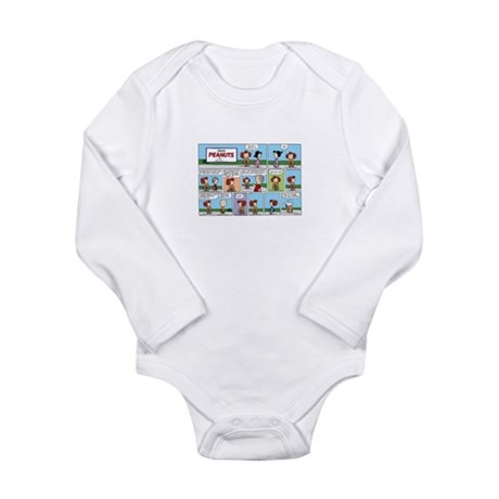 Stupid Cat Long Sleeve Infant Bodysuit