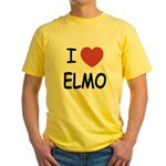 I heart elmo Yellow T-Shirt