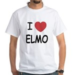 I heart elmo White T-Shirt