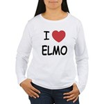I heart elmo Women's Long Sleeve T-Shirt
