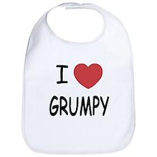 I heart grumpy Bib