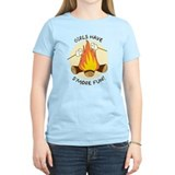 &quot;Girls Have S'more Fun&quot;  T-Shirt