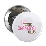 "1st Time Grandpas Club (Pink) 2.25"" Button"