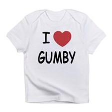 I heart gumby Infant T-Shirt