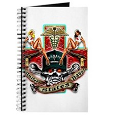 US Navy Corpsman Skull Journal