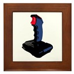 1980's Joystick Framed Tile