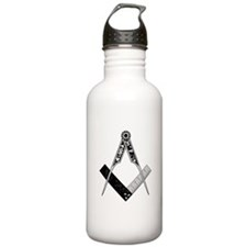 English Style Square and Compass Water Bottle