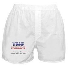 Willie For President Boxer Shorts